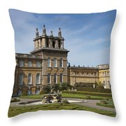 Blenheim Palace Throw Pillow