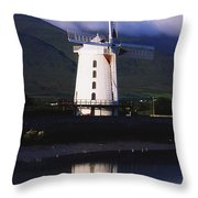 Blennerville Windmill, Tralee, Co Throw Pillow