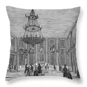 Boston: Faneuil Hall Throw Pillow