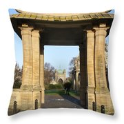 Brighton Pavillion Throw Pillow