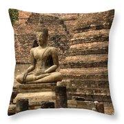 Buddha At Sukhothai Throw Pillow