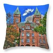 Buffalo Psychiatric Center Throw Pillow