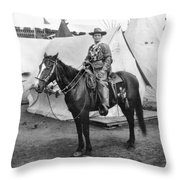Calamity Jane (c1852-1903) Throw Pillow