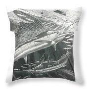 Carey Chen Mens Sailfish Shirt Throw Pillow