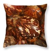 Castor Beans Throw Pillow