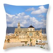 Cathedral Mosque Of Cordoba Throw Pillow