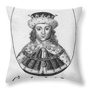 Charles I (1600-1649) Throw Pillow