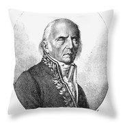 Chevalier De Lamarck Throw Pillow