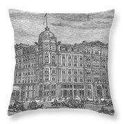 Chicago: Palmer House Throw Pillow