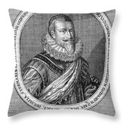 Christian Iv (1577-1648) Throw Pillow