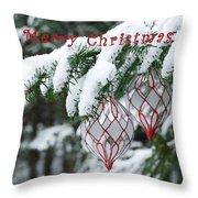 Christmas Card 2194 Throw Pillow