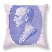 Cicero, Roman Philosopher Throw Pillow
