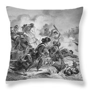 Civil War: Antietam, 1862 Throw Pillow