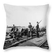 Civil War: Bull Run, 1862 Throw Pillow