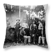 Civil War: Signal Corps Throw Pillow
