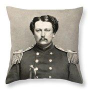 Civil War: Union Soldier Throw Pillow
