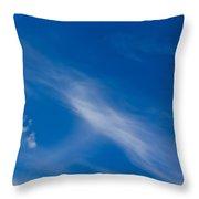 Cloud Imagery Throw Pillow