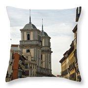 Colegiata De San Isidro Throw Pillow