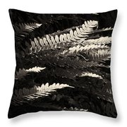 Common Polypody Throw Pillow