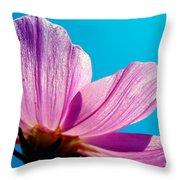 Cosmia Flower Throw Pillow