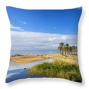 Costa Del Sol In Spain Throw Pillow
