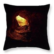 Cueva De Los Verdes Throw Pillow