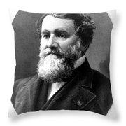 Cyrus Mccormick, American Inventor Throw Pillow