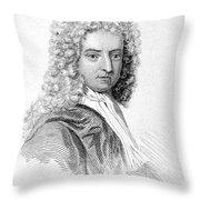 Daniel Defoe (c1659-1731) Throw Pillow