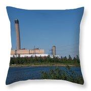 Dartford Marsh Lakes Throw Pillow