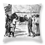 David Livingstone Throw Pillow