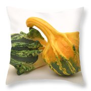 Decorative Squash Throw Pillow