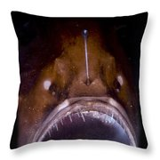 Deep Sea Angler Throw Pillow