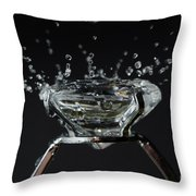Diamond Ring Throw Pillow by Mats Silvan