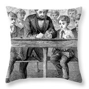 Elementary School Throw Pillow