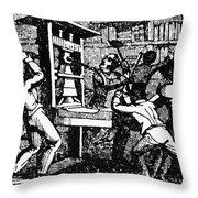 Elijah Parish Lovejoy Throw Pillow
