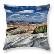 Endless Mountains Throw Pillow