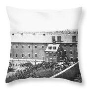 Execution Of Conspirators Throw Pillow