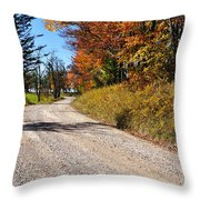 Fall Color Randolph County West Virginia Throw Pillow