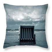 Flood Throw Pillow by Joana Kruse