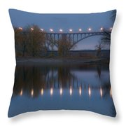 Ford Parkway Bridge Throw Pillow