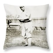 Fred Snodgrass (1887-1974) Throw Pillow