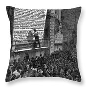 Garfield: Assassination Throw Pillow