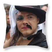 Gay Pride Nyc 2011 Throw Pillow