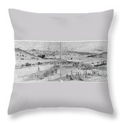 Gettysburg, 1863 Throw Pillow