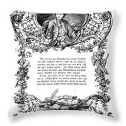 Goethe: Werther Throw Pillow