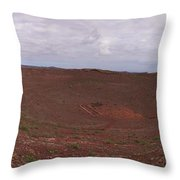 Guanapay Castle At Tequise Throw Pillow