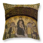 Hagia Sophia: Mosaic Throw Pillow