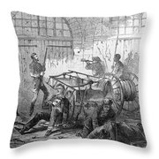 Harpers Ferry, 1859 Throw Pillow