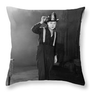 Harry Philmore Langdon Throw Pillow by Granger