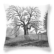 Hartford: Charter Oak Throw Pillow